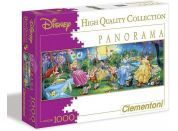 Clementoni Disney Princess Puzzle Panorama Princezny na houpačkách 1000d