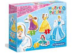Clementoni Disney Princess Puzzle Princezny 3+6+9+12