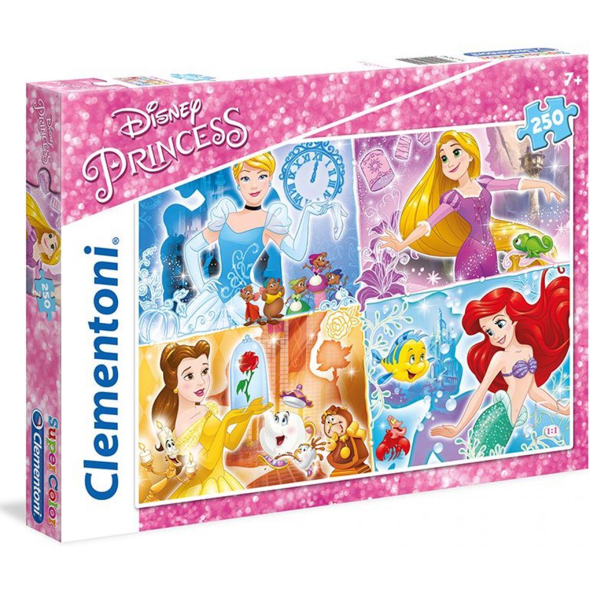 Clementoni Disney Princess Puzzle Supercolor 250d