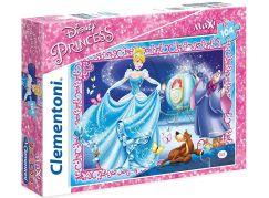 Clementoni Disney Princess Puzzle Supercolor Popelka Maxi 104 dílků