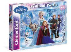Clementoni Disney Puzzle Brilliant Frozen 104d
