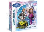 Clementoni Disney Puzzle Clock Frozen 96d