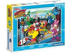 Clementoni Disney Puzzle Mickey závodník 30 dílků