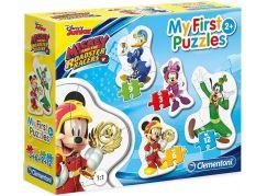 Clementoni Disney Puzzle Mickey závodník 3+6+9+12