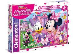 Clementoni Disney Puzzle Minnie Briliant 104 dílků