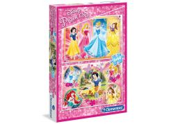 Clementoni Disney Puzzle Princezny 2 x 60 dílků