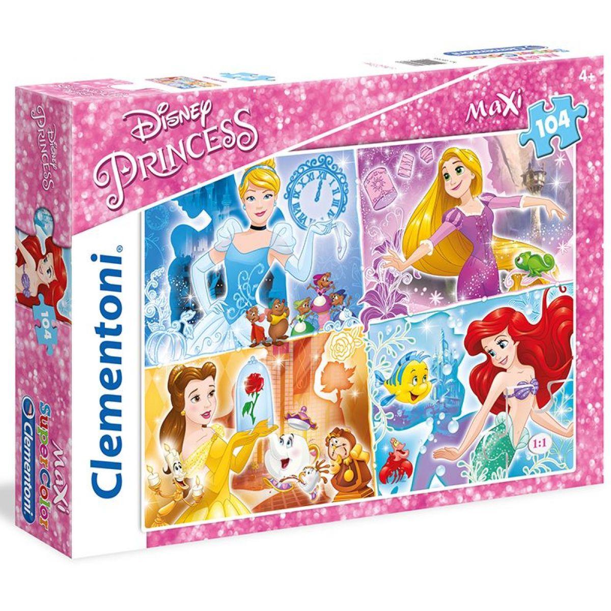 Clementoni Disney Puzzle Princezny Maxi 30 dílků