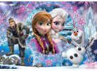 Clementoni Disney Puzzle Supercolor Glitter Frozen 104d 2
