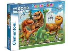 Clementoni Disney Puzzle Supercolor Hodný dinosaurus 104d