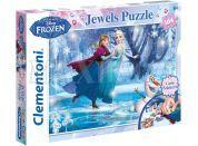 Clementoni Disney Puzzle Supercolor Jewels Frozen 104d