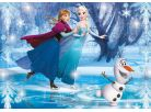 Clementoni Disney Puzzle Supercolor Jewels Frozen 104d 2