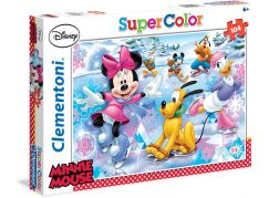 Clementoni Disney Puzzle Supercolor Minnie Sport 104d