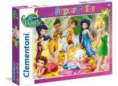 Clementoni Disney Puzzle Supercolor Víly 60d