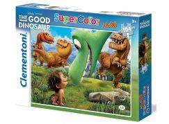Clementoni Disney Supercolor Good Dinosaur Puzzle Maxi 104d