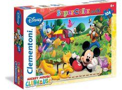 Clementoni Disney Supercolor Mickey Mouse Puzzle Maxi 104d