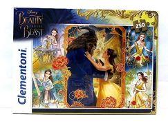 Clementoni Disney Supercolor Puzzle Kráska a zvíře 250d
