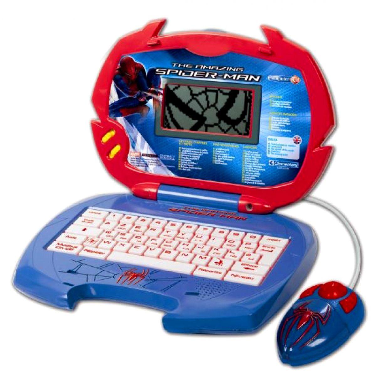 Clementoni Dětský počítač - Spiderman
