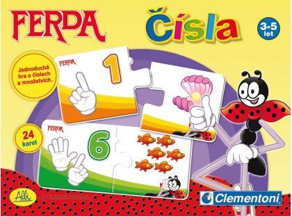 Clementoni Ferda Mravenec naučná hra - Čísla