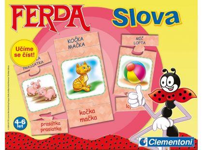 Clementoni Ferda Mravenec naučná hra - Slova