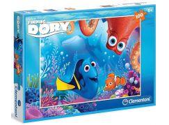 Clementoni Hledá se Dory Puzzle 100d