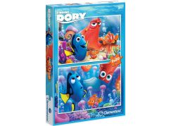 Clementoni Hledá se Dory Puzzle 2x20d