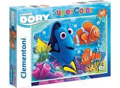Clementoni Hledá se Dory Supercolor Puzzle 60d