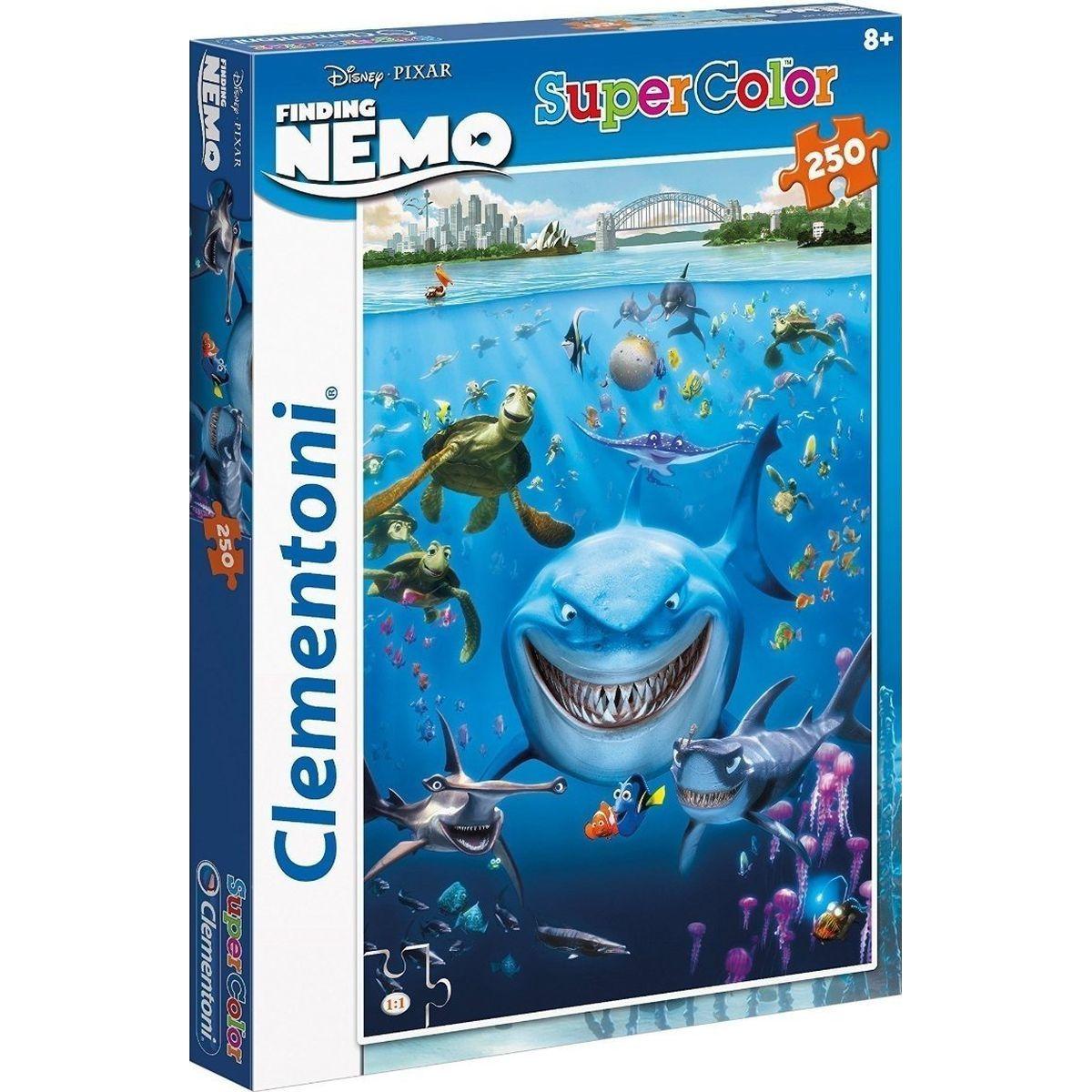 Clementoni Hledá se Nemo Supercolor Puzzle 250d
