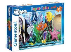 Clementoni Hledá se Nemo Supercolor Puzzle Maxi 24d