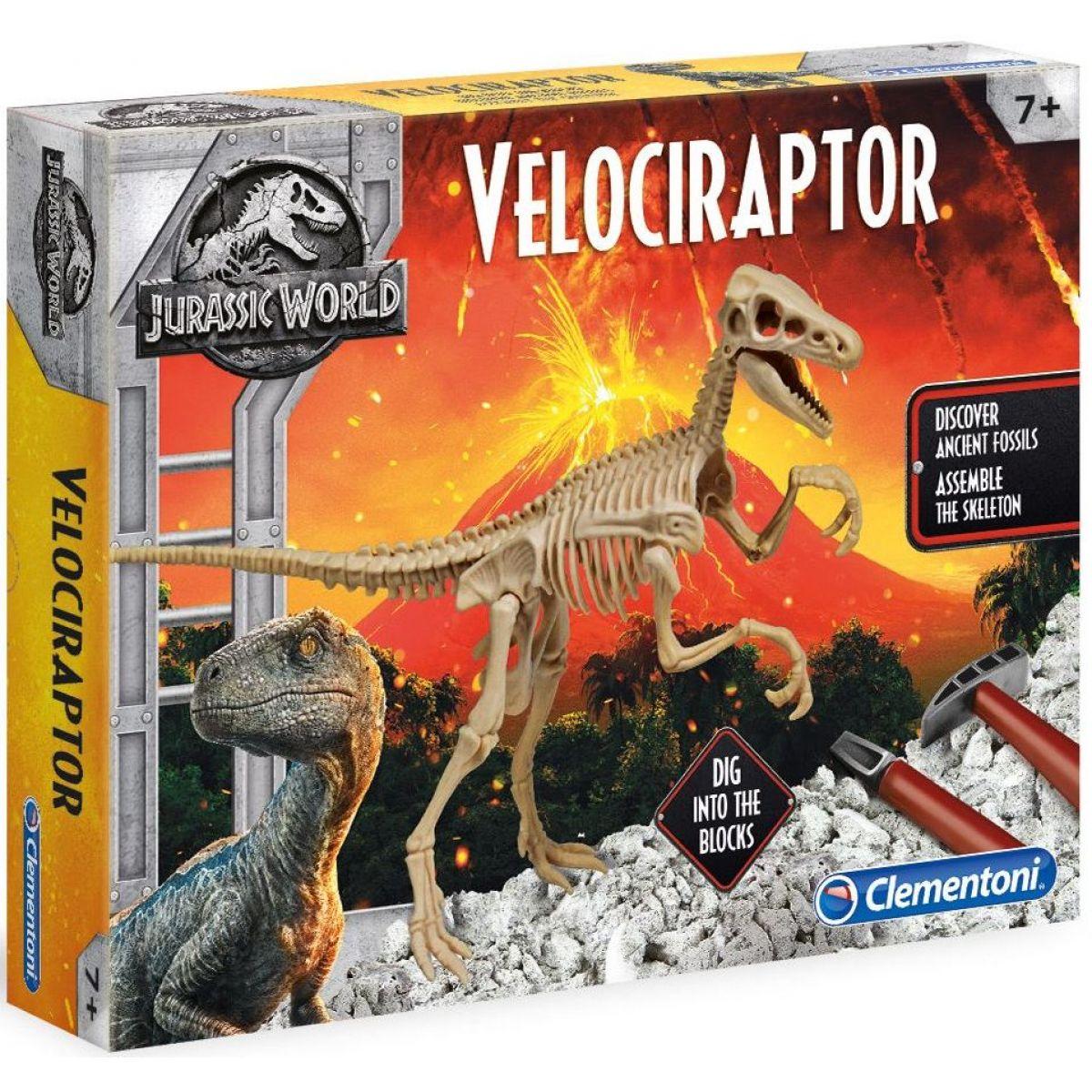 Clementoni Jurský svět 2 Velociraptor