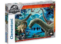 Clementoni Jurský svět Puzzle Supercolor Setkání 104 dílků