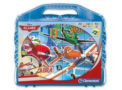 Clementoni Kostky Kufřík (12 kostek) Letadla
