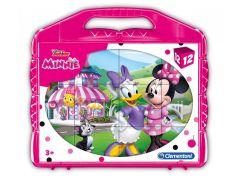 Clementoni Kostky v kufříku Minnie 12 kostek