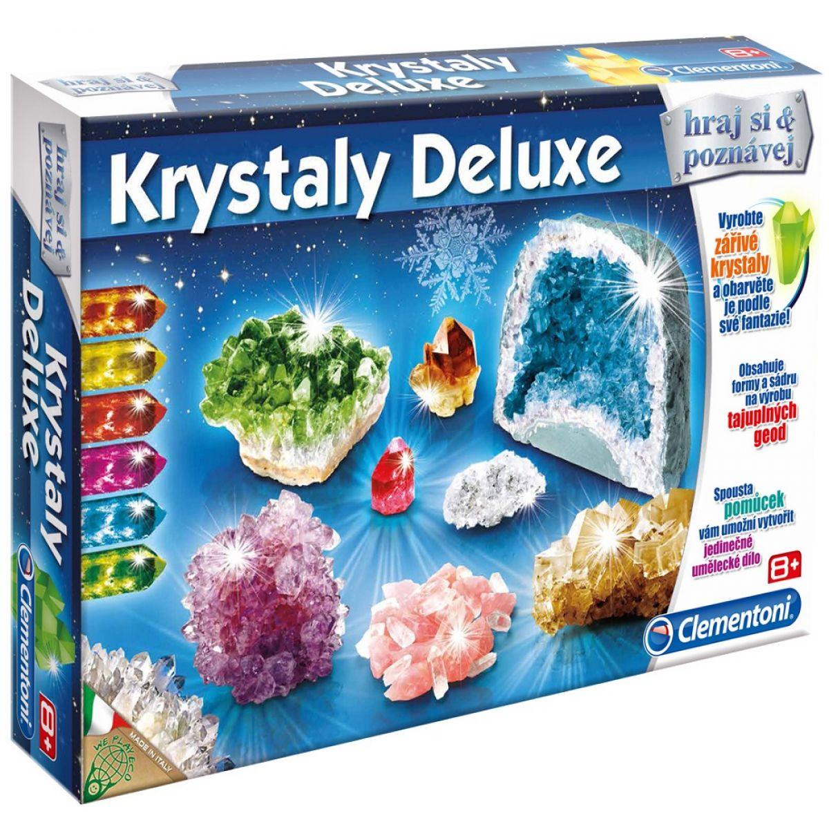 Clementoni Krystaly Deluxe