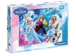 Clementoni Ledové království Puzzle Anna, Elsa, Olaf 100d