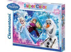 Clementoni Ledové království Puzzle Supercolor 250d