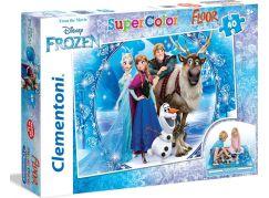 Clementoni Ledové království Puzzle Supercolor Floor 60d