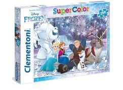 Clementoni Ledové království Puzzle Supercolor Frozen 250d