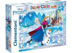 Clementoni Ledové království Puzzle Supercolor Maxi 104d