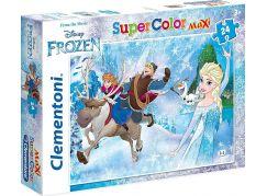 Clementoni Ledové království Puzzle Supercolor Maxi 24d