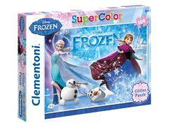 Clementoni Ledové království Supercolor Glitter Puzzle 104d