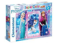 Clementoni Ledové Království Supercolor Puzzle Maxi 60d