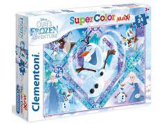 Clementoni Ledové království Supercolor Puzzle Maxi Olaf 24d