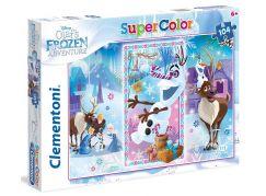 Clementoni Ledové království Supercolor Puzzle Olaf 104d