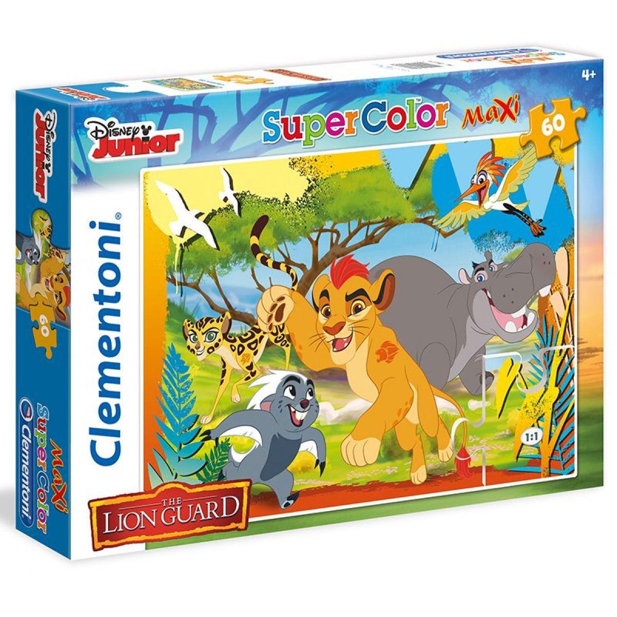 Clementoni Lion Guard Supercolor Puzzle Maxi 60d