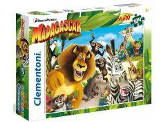 Clementoni Madagascar Supercolor Puzzle Maxi 104d