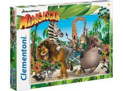 Clementoni Madagaskar Puzzle Supercolor 104d
