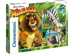 Clementoni Madagaskar Puzzle Supercolor 3x48d