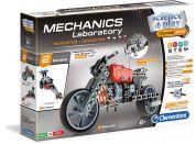 Clementoni Mechanická laboratoř Motorka a formule 130 dílků