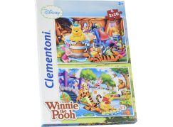 Clementoni Medvídek Pú Supercolor Puzzle 2x20d