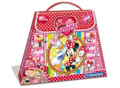 Clementoni Minnie Shoping Bag 104 dílků Minnie a Daisy